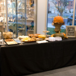 Beautiful table fixings at the Nov. 1 event