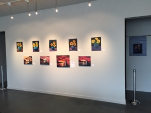 Oil Painting Class on display at The Filley Through February