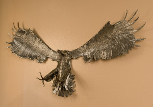 "Bald Eagle 67"" wing span X 27"" H$2500"